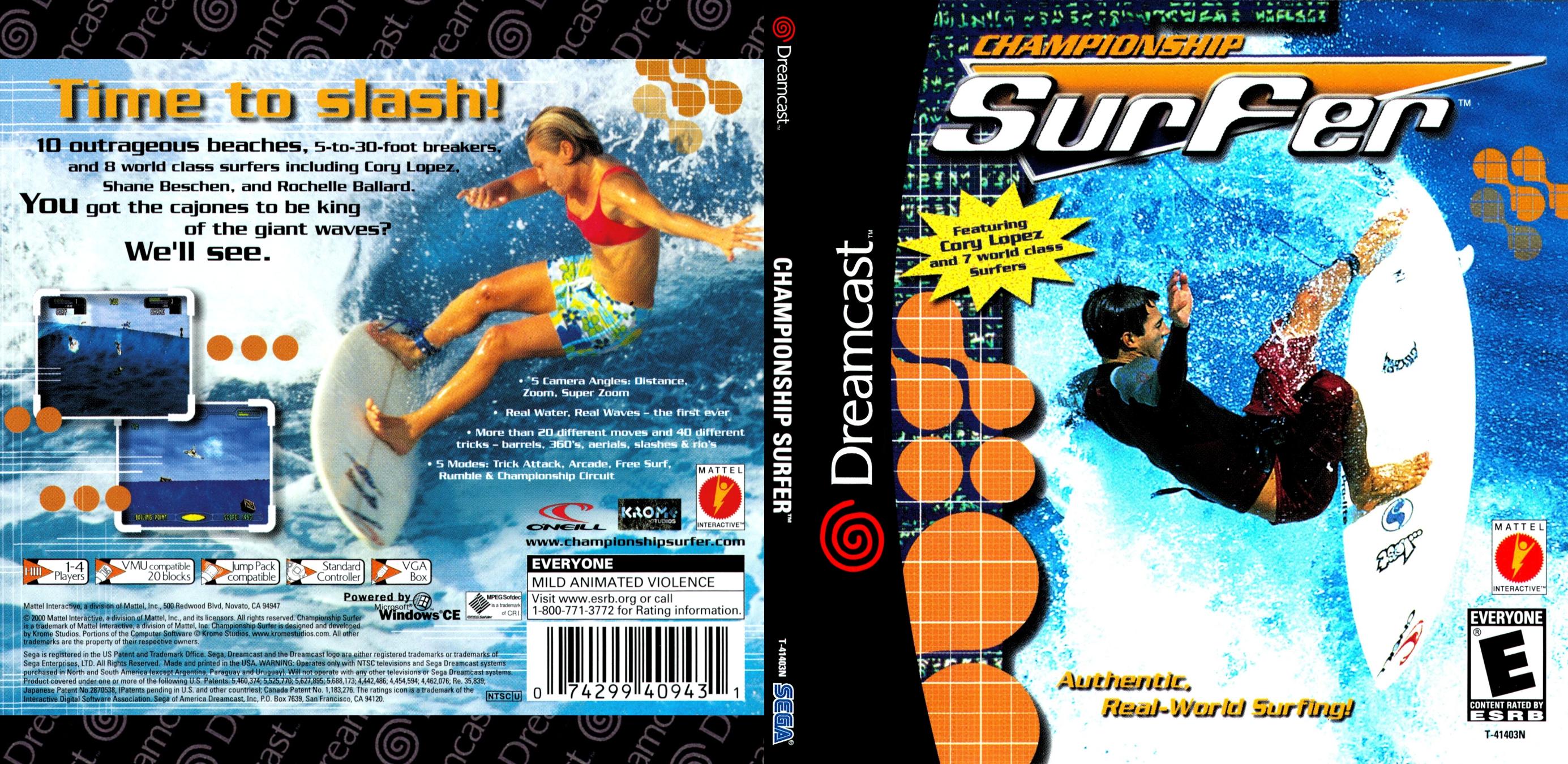 Championship Surfer ISO